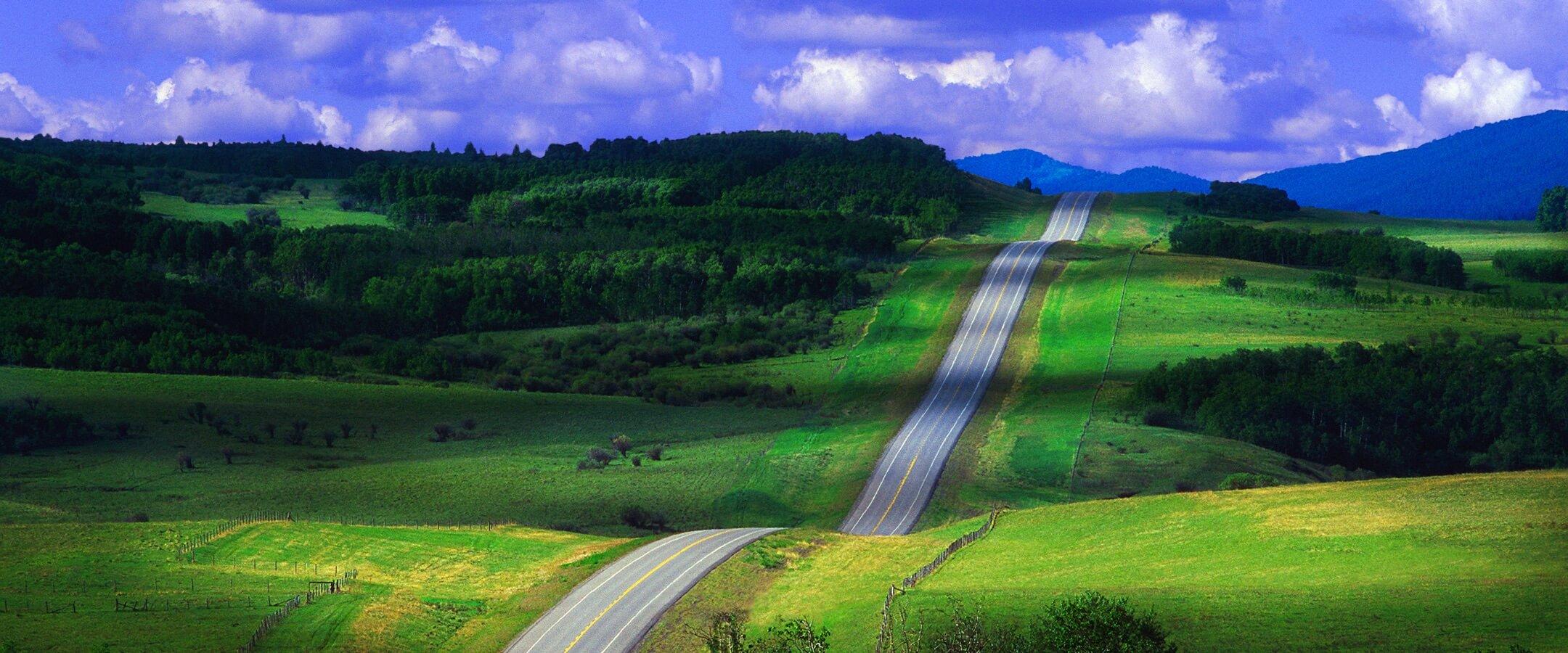 Road in Alberta
